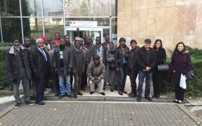Etape TDF –  Ile de France : Soutien des salariés en lutte pour un salaire digne !